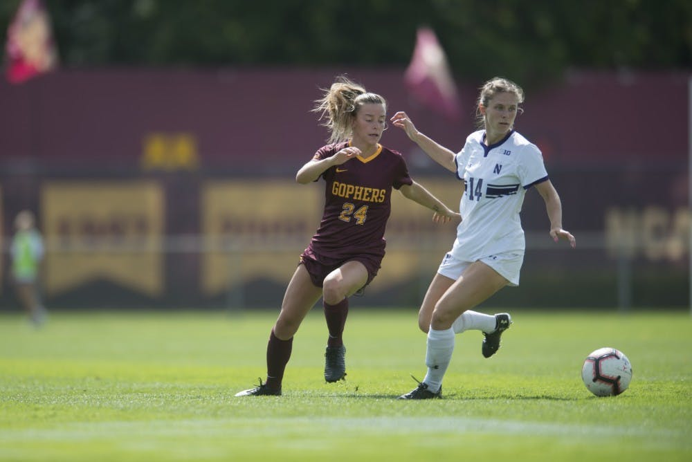 Gophers one victory away from Big Ten final