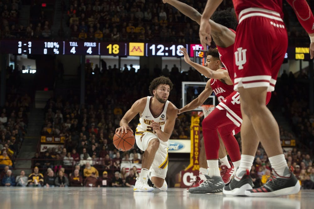 Gophers get back to winning ways with 84-63 rout of Indiana