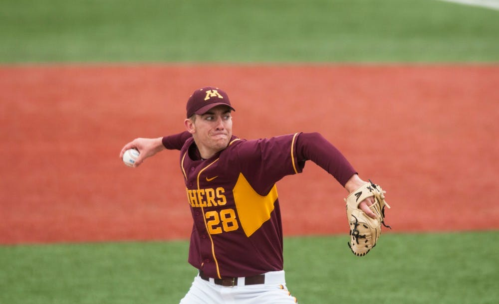 Three Gophers selected in MLB Draft