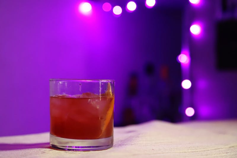 "A ""Cranberry Old Fashioned"" drink on Sunday, Nov. 18 in the Como neighborhood."
