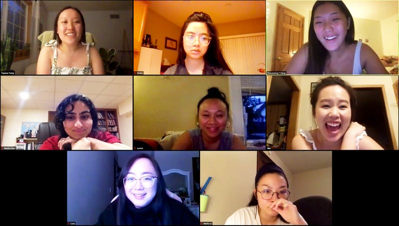 SEKY members meet virtually and talk about their upcoming projects on Tuesday, June 9.