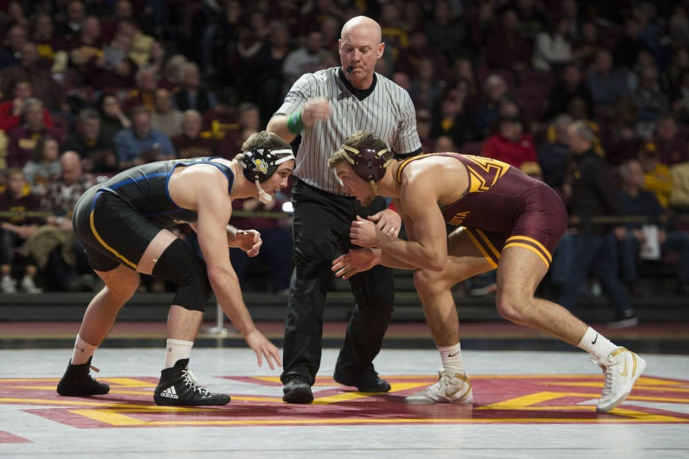 Gophers newcomer Devin Skatzka continues to impress after downing his former team