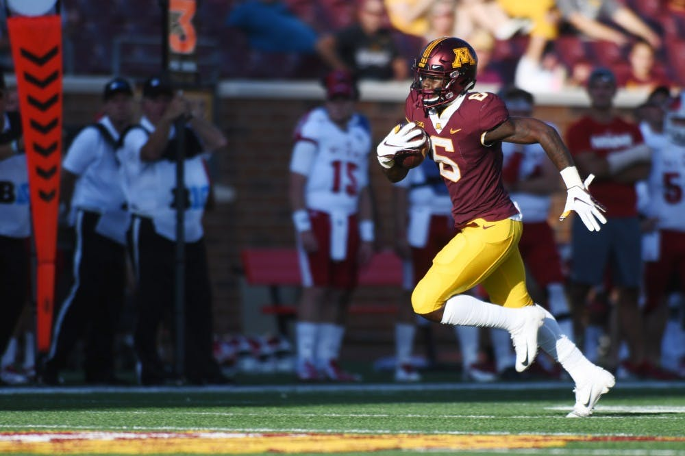 Tyler Johnson and wide receiving crew look to carry early success into Big Ten Play