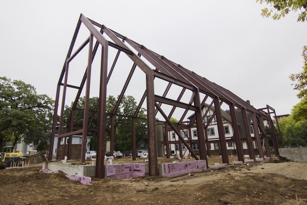 Campus ministry nears completion of new chapel
