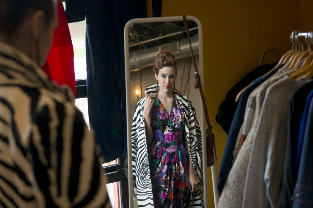 Q&A: Vintage maven Morgan Potter on fall style and thrifting