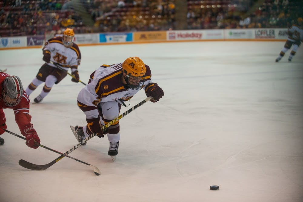 Minnesota continues its hot streak with Wisconsin sweep