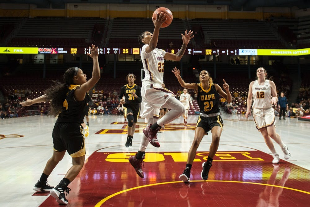 No. 13 Minnesota downs Coppin State on Wednesday