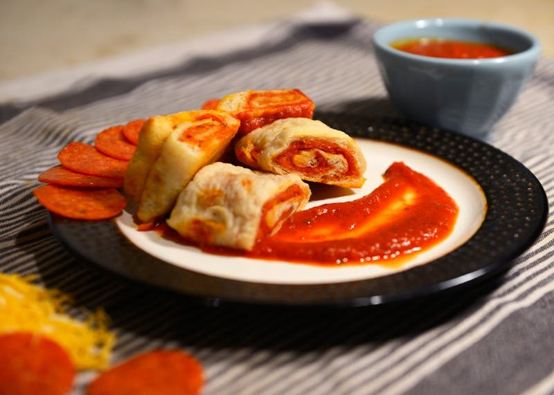 Homemade pizza rolls are a great twist on a classic frozen snack.