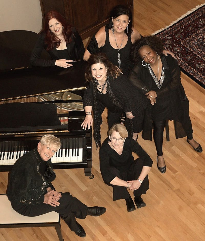 """The Girls"" will put on their holiday concert Friday, Dec. 4. The group is made up of Judi Vinar, Lori Dokken, Patty Peterson, Erin Schwab, Debbie Duncan and Rachel Holder-Hennig."