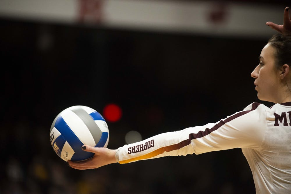 Gophers volleyball slated for rematch with Florida in Sweet Sixteen