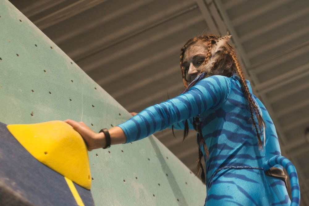 Scaling in style: The Minneapolis Bouldering Project's Halloween party