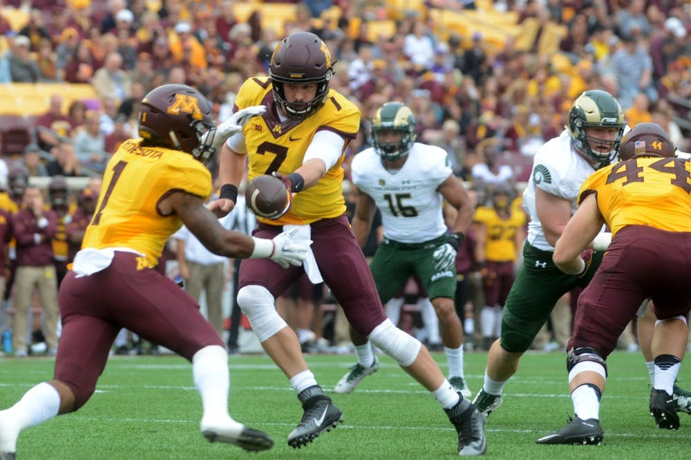 Gophers begin conference play at Penn State