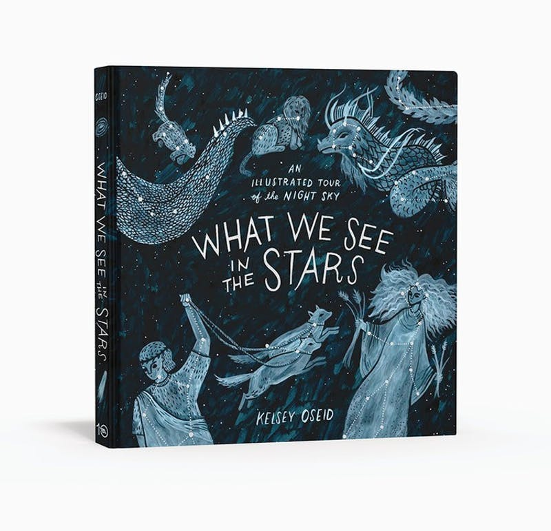 "Minneapolisl based illustrator Kelsey Oseid's first book, ""What We See in The Stars,"" gives the reader a tour of the night sky through illustration."