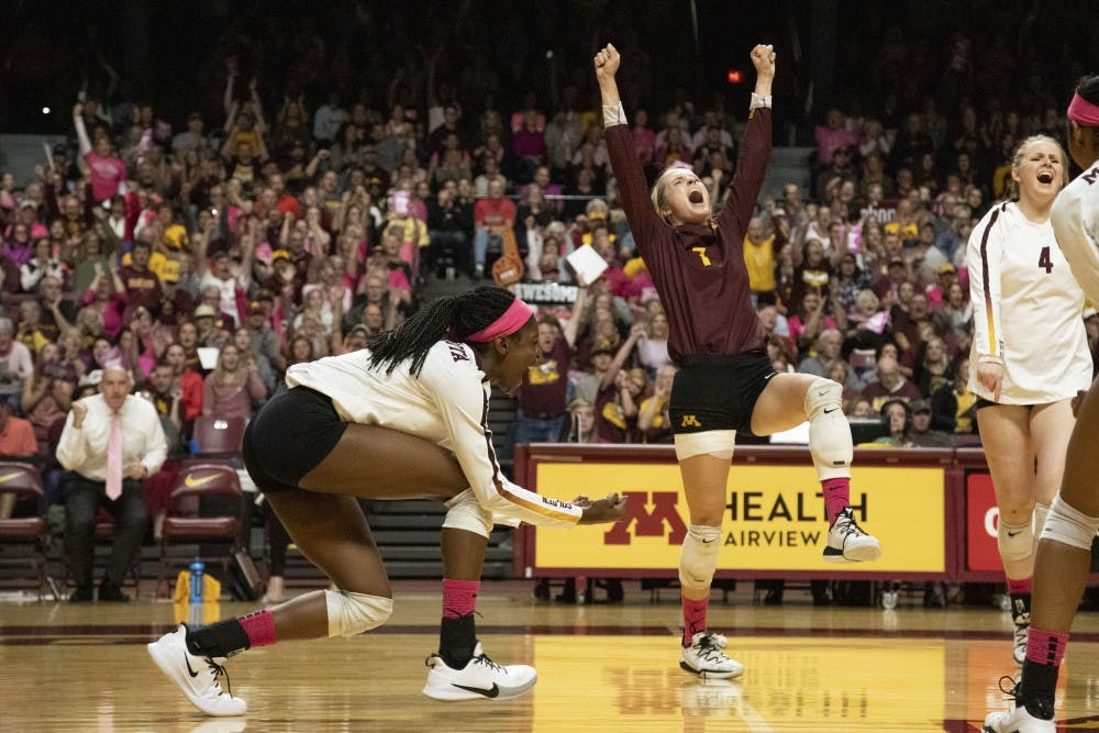 Gophers grab two home victories over the weekend