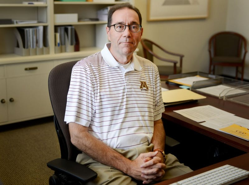 College of Liberal Arts Dean Coleman poses in his office on Thursday. This will be Coleman's first semester leading the school.