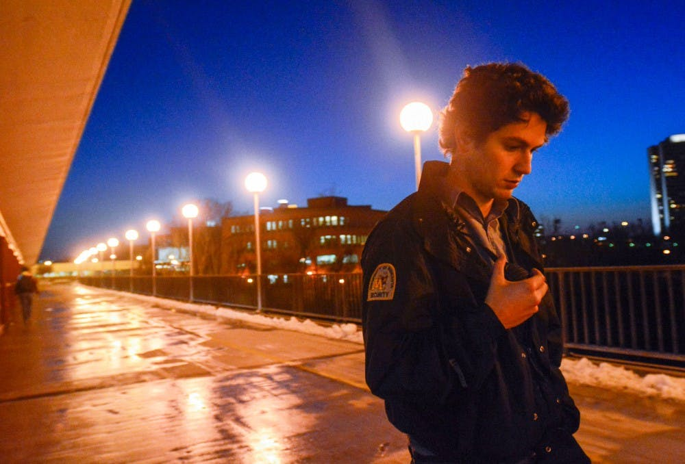 For UMN student security monitors, bridge crises bring anxiety