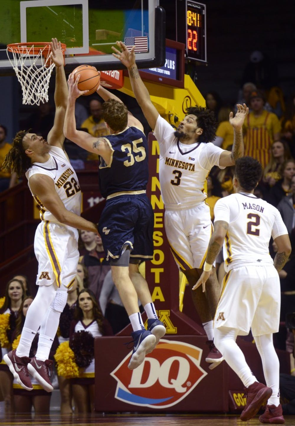 Cornhuskers hand Gophers first Big Ten loss of the season