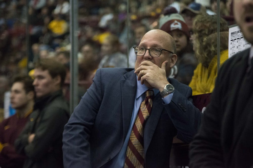 Men's hockey takes a loss and a tie against Buckeyes