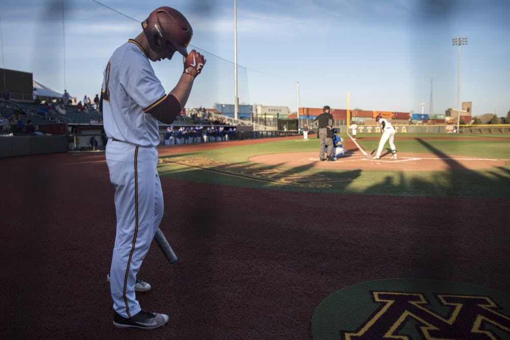 Cole McDevitt adjusts to new role at first base with Gophers
