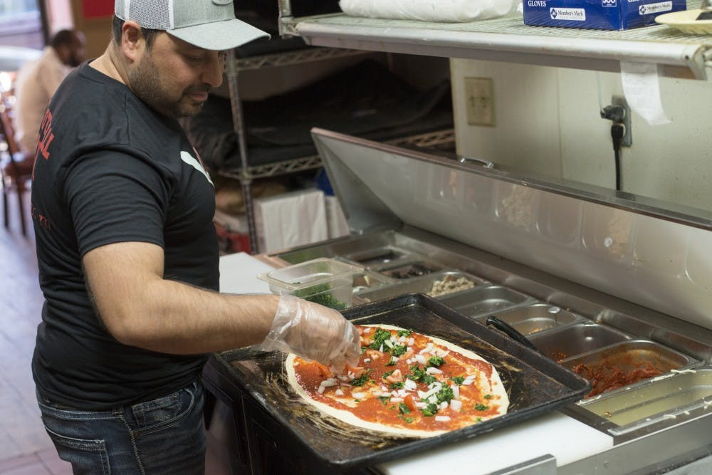 Football Pizza serves for ten years in Como