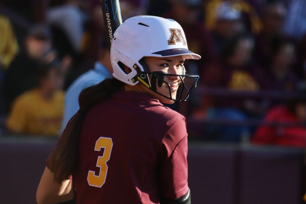 MaKenna Partain is a consistent force for Gophers softball