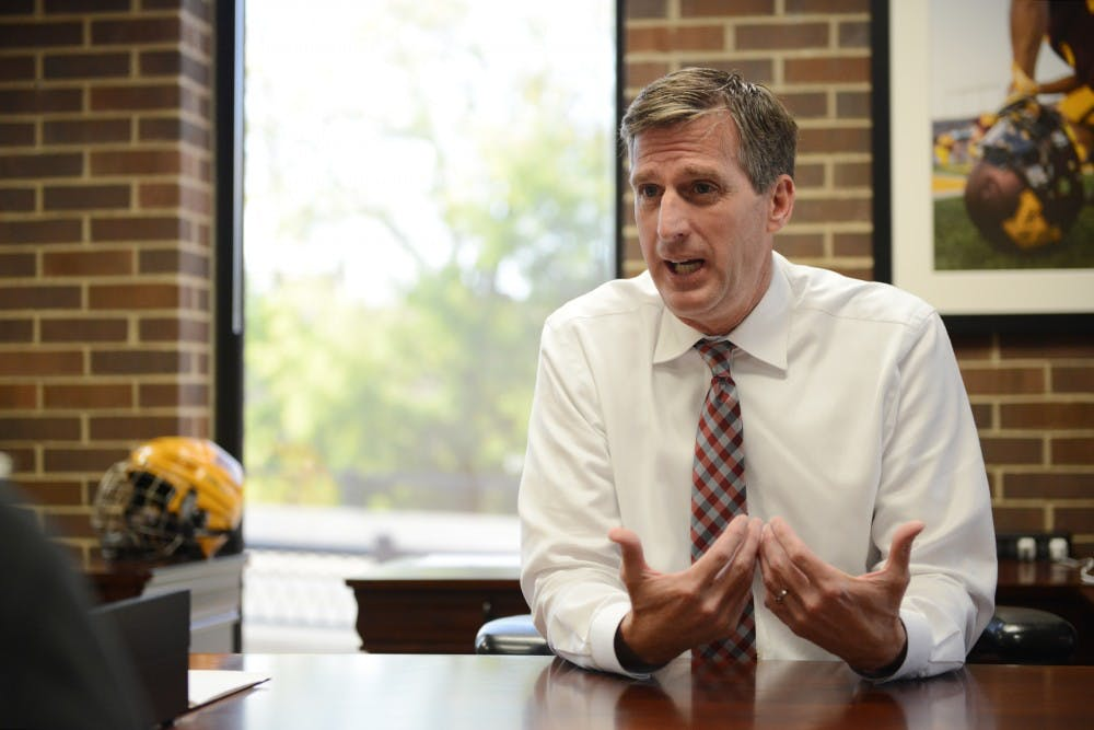 Coyle talks first 100 days as Athletics Director, Robinson termination and future plans