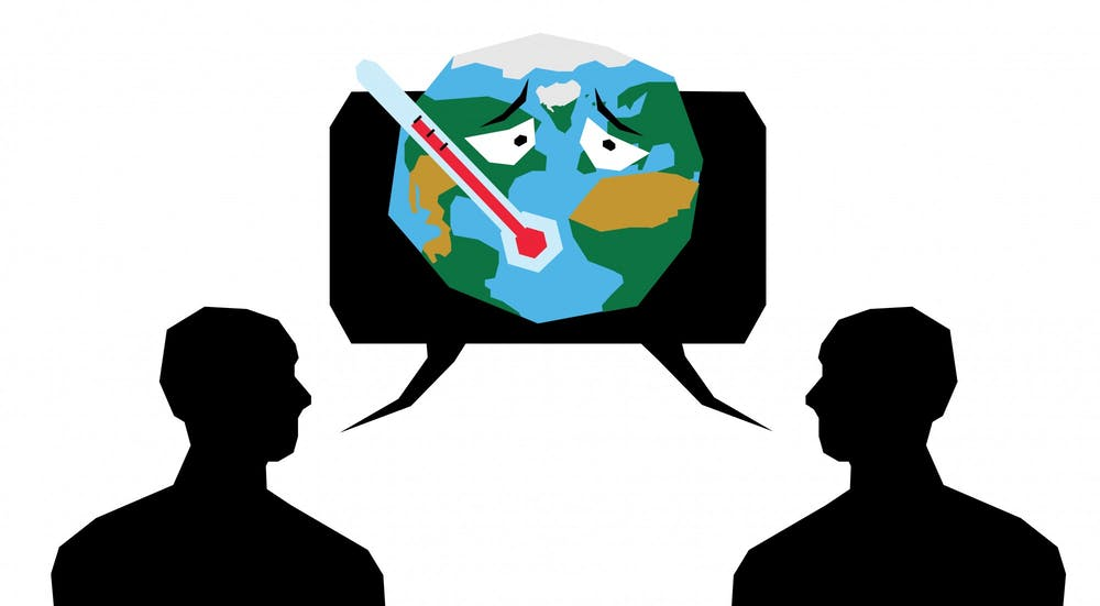 Conversations, opinions are core to curbing climate change