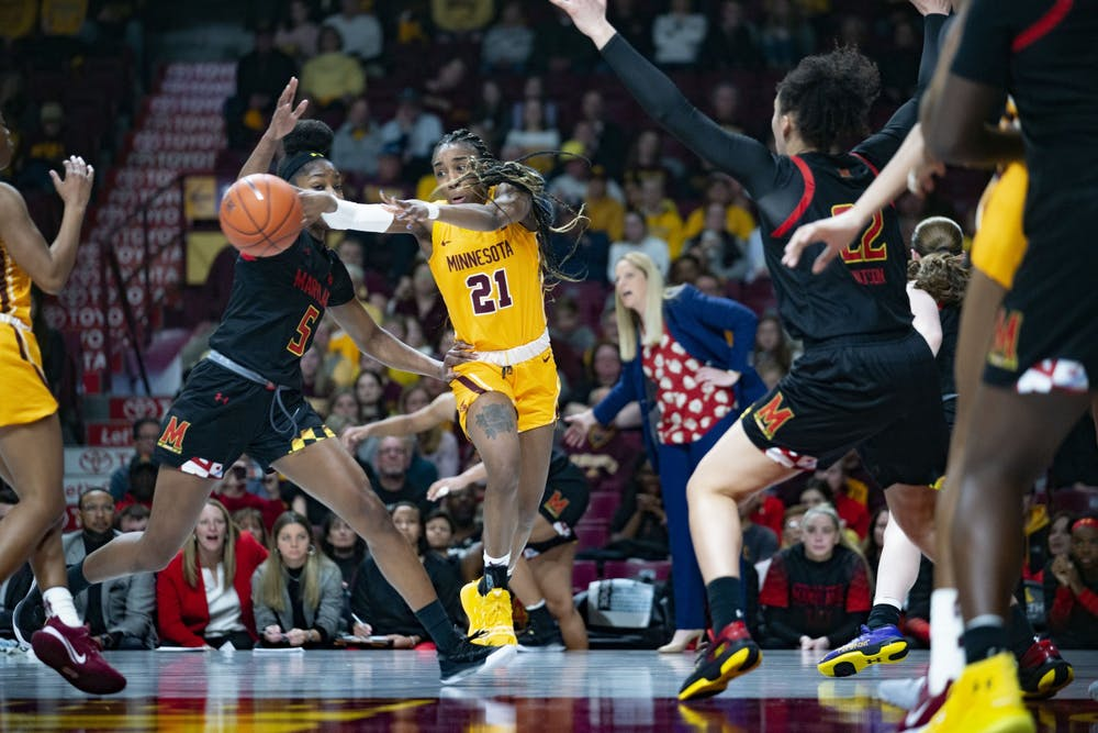 Gopher women's basketball team falls in second round of Big Ten Tournament