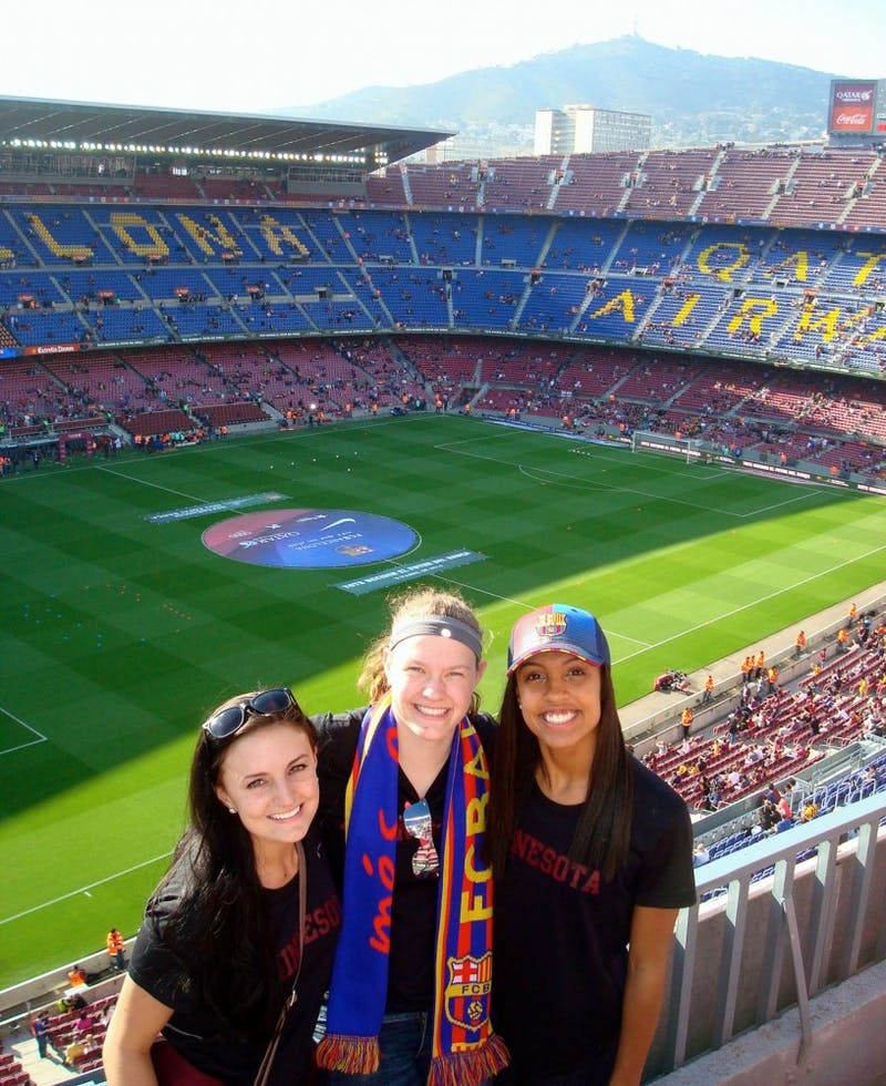 Ashley Pafko, Tarah Hobbs and Simone Kolander.