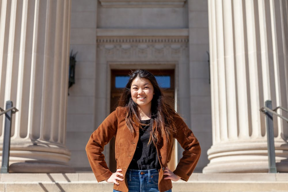MSA President Amy Ma discusses evolving pandemic, UMPD reform and campus reopening