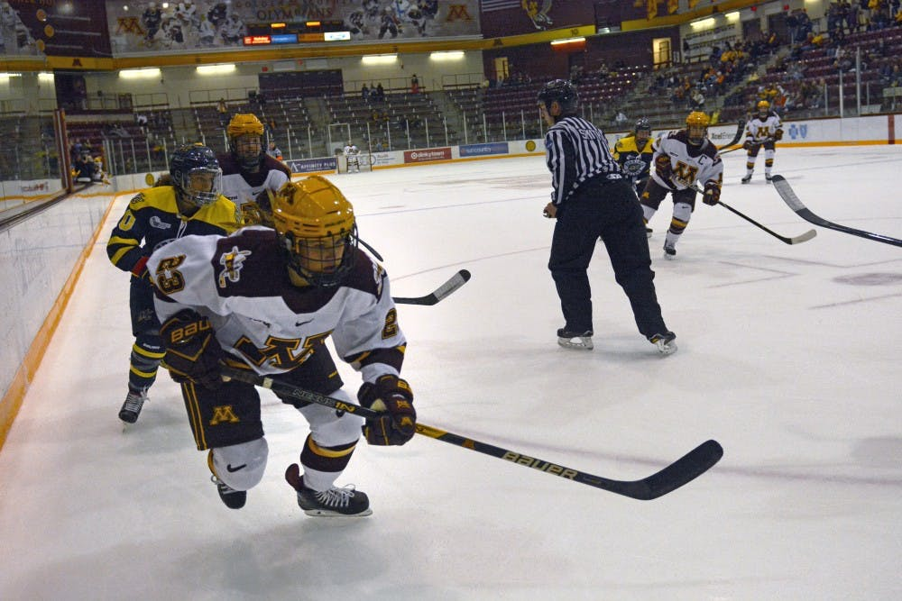 Gophers sweep rivals Duluth, extend win streak to four