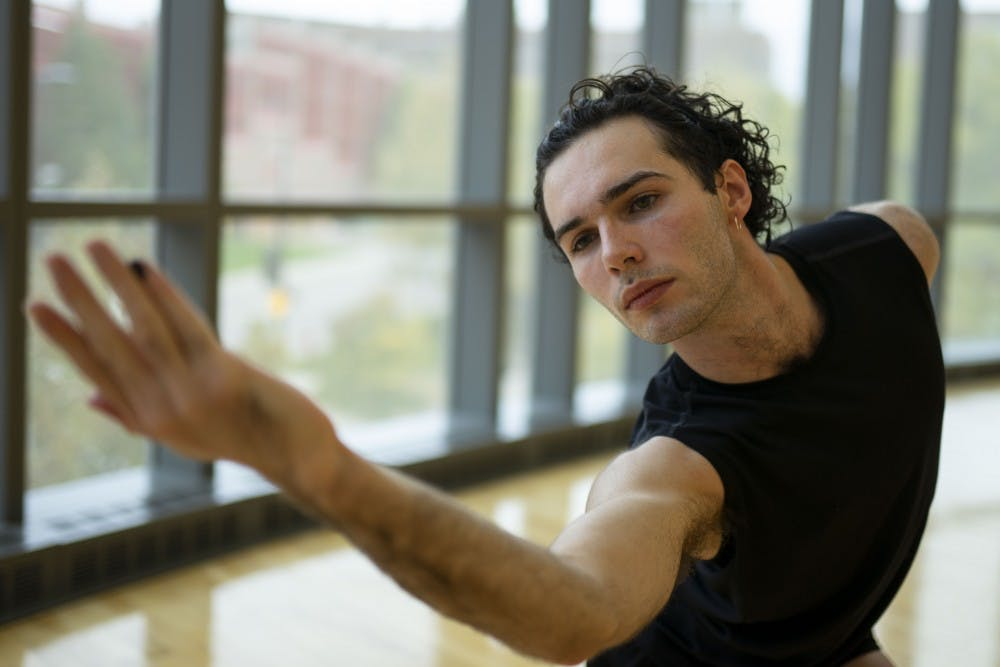 UMN student Connor Simone is leaping into the professional dance scene
