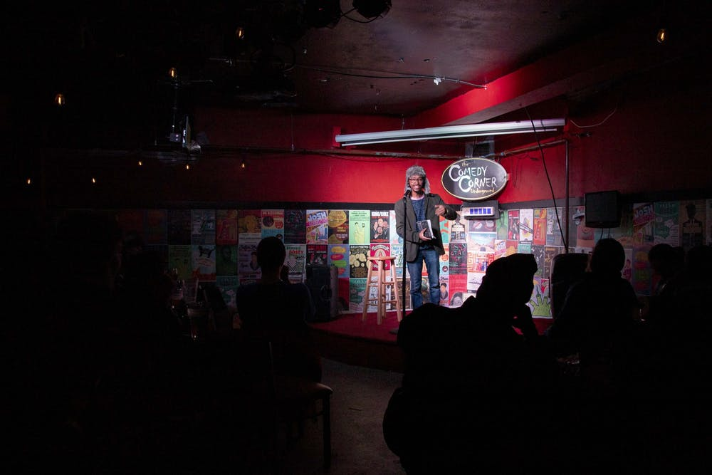 Open mic workshop provides comedic collaboration