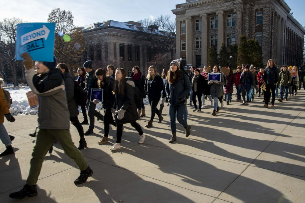 U student group: UMN should declare a climate crisis, divest from fossil fuels