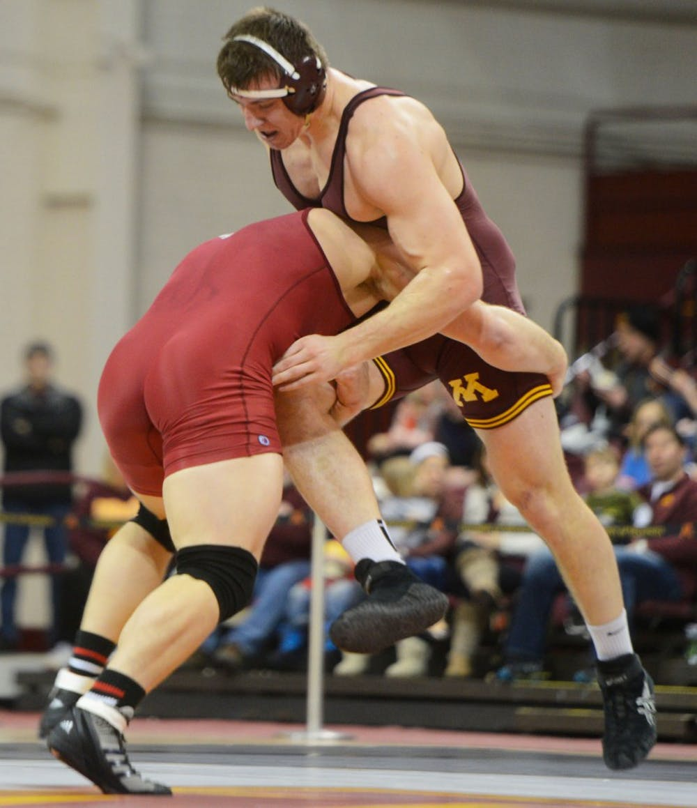 Gophers try for three- peat at National Duals