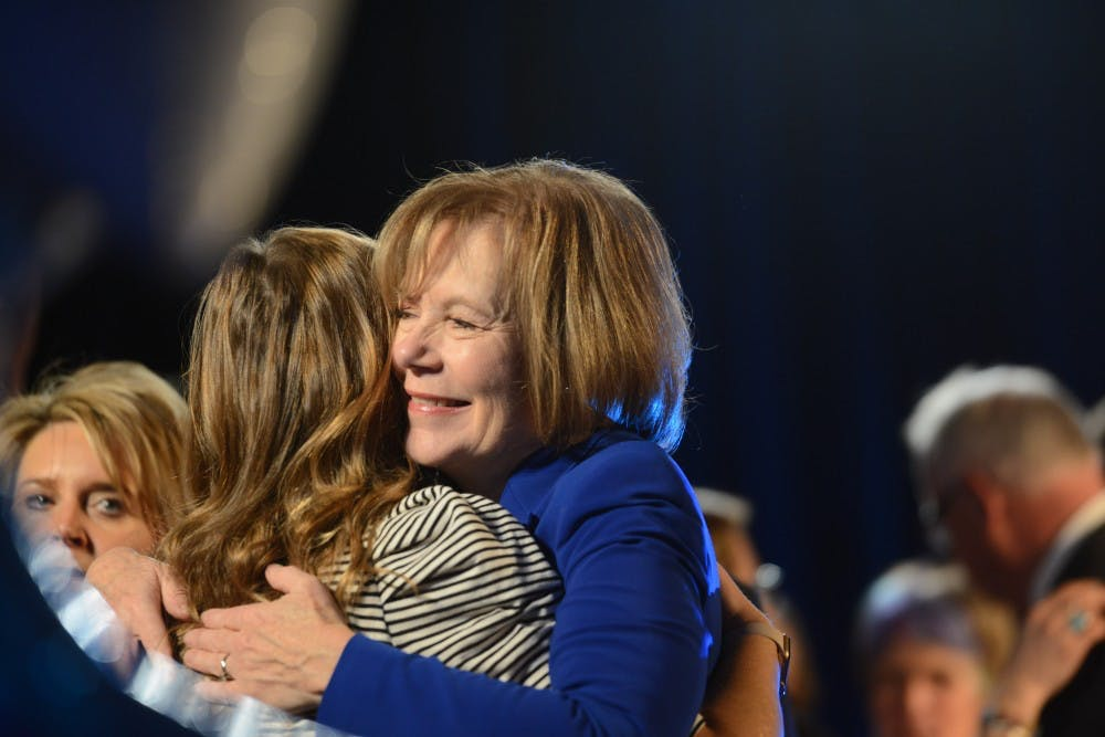 Tina Smith wins contested senate seat