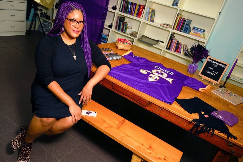 Gigi Berry's Cherry Moon Press, which makes Prince-themed pins, turns one-year-old