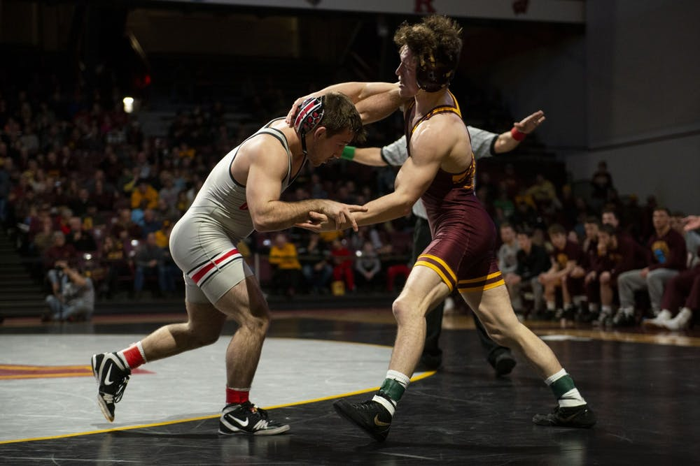 Gophers wrestling falls to Ohio State
