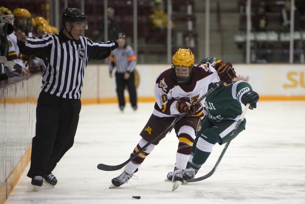 Gophers suffer first road loss of season