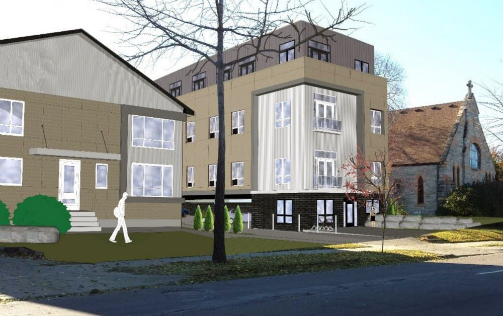 """New """"micro-unit"""" apartment building planned for Marcy-Holmes draws parking concerns"""