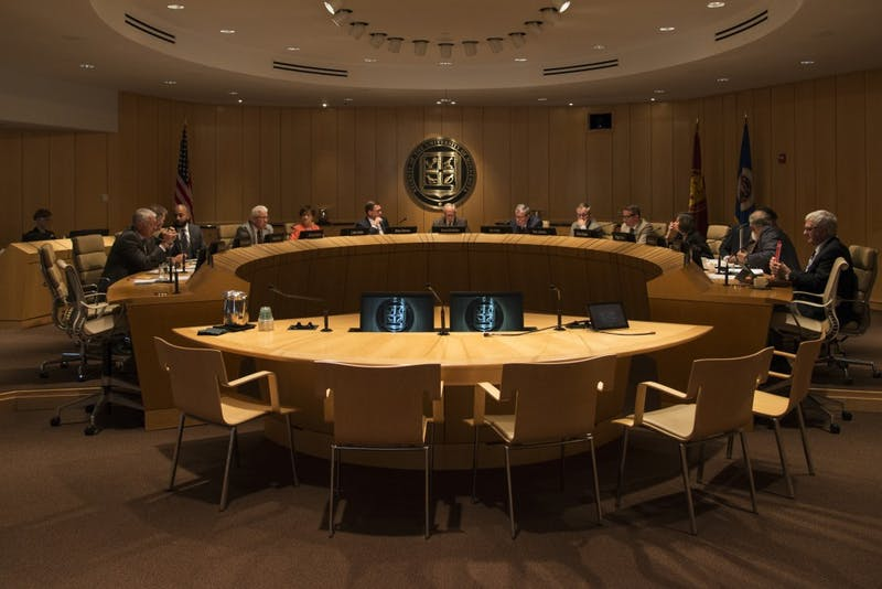 The University's Board of Regents convene on Friday, Sep. 14 at McNamara Alumni Center.