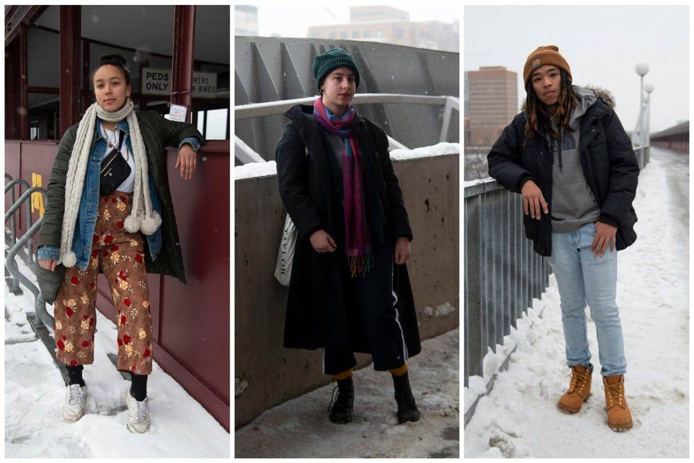 Street style: Students find a balance between staying warm and looking fresh
