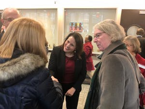University Joan Gabel, lone finalist for the next University of Minnesota president, visits the Twin Cities campus on Monday, Dec. 10. Gabel will be visiting all five campuses this week.