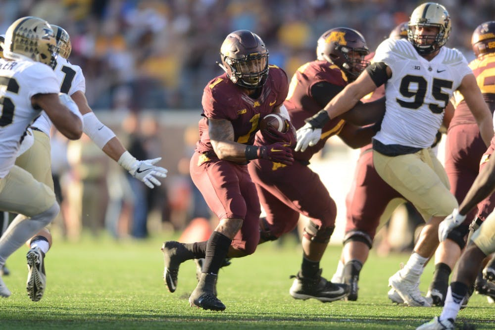 As the Gophers approach Big Ten play, an improved running game is pivotal