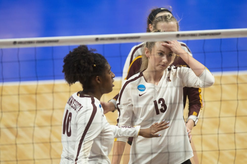 Gophers upset in Sweet Sixteen