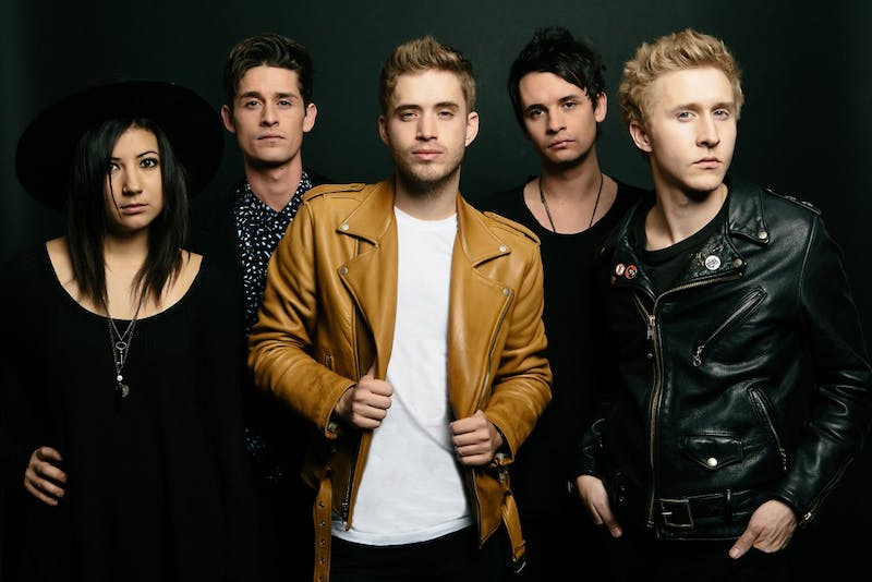 """Five-piece pop-rock band, The Summer Set, is playing in Burnsville on April 22. The band released """"Stories for Monday"""" on April 1."""
