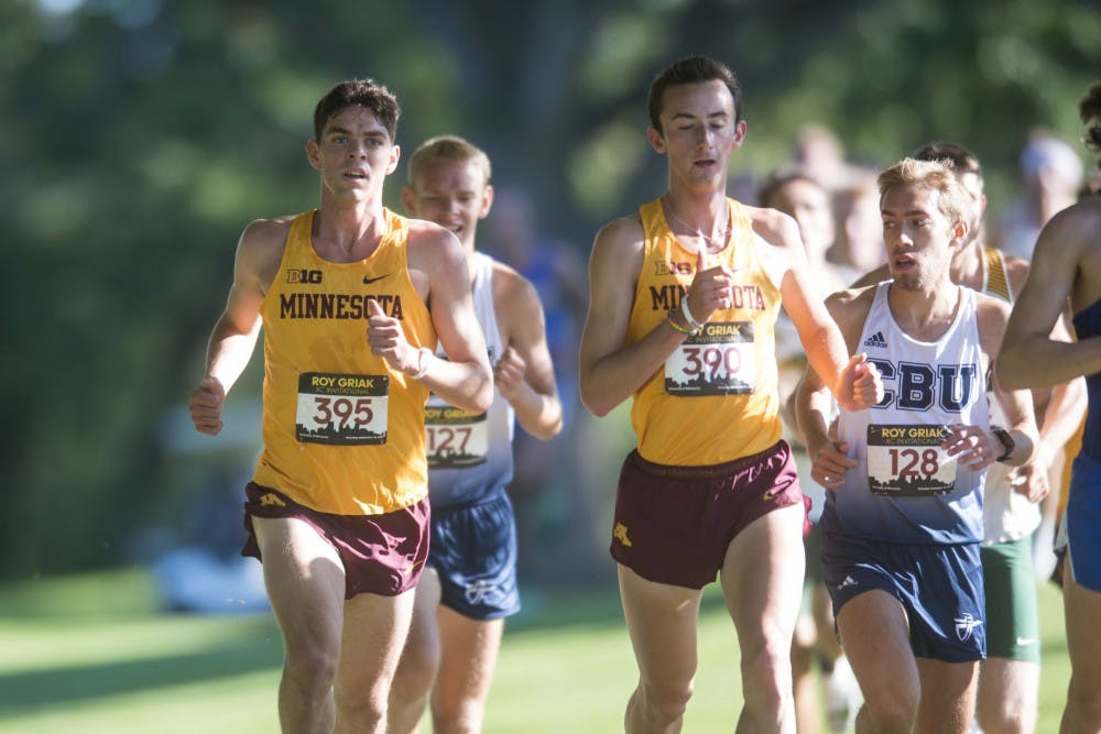 Minnesota cross country sees strong weekend showing