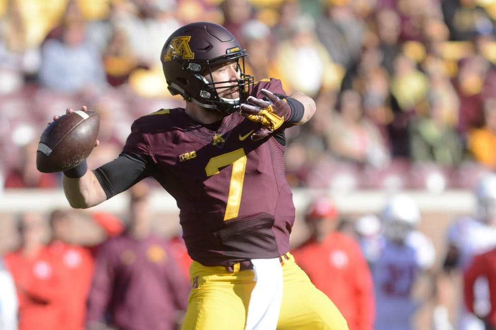 The last time the Gophers were in a New Year's Day bowl game