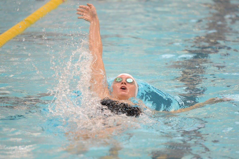Minnesota senior beats two personal records at U.S. Nationals for women's swim and dive