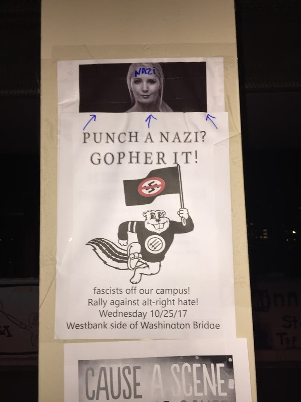 Punch a Nazi? Gopher It!